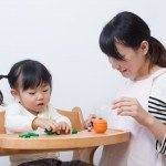 Baby Fine Motor Play with Clay