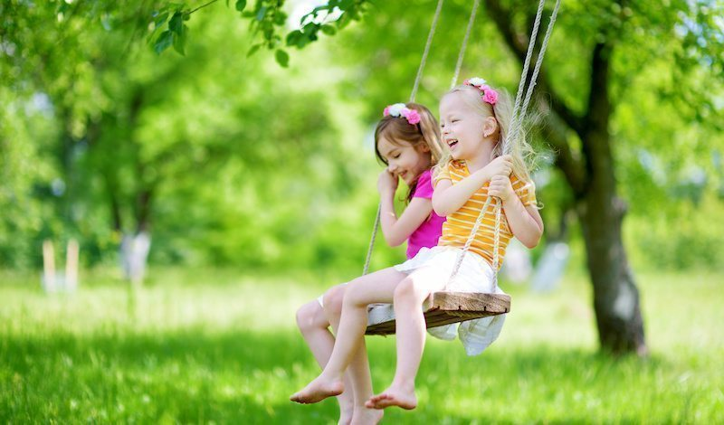 Old Fashioned Play for Optimal Childhood Development - Swinging